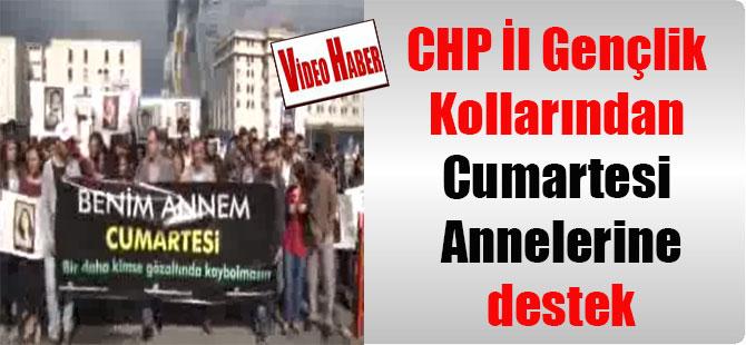 CHP İl Gençlik Kollarından Cumartesi Annelerine destek
