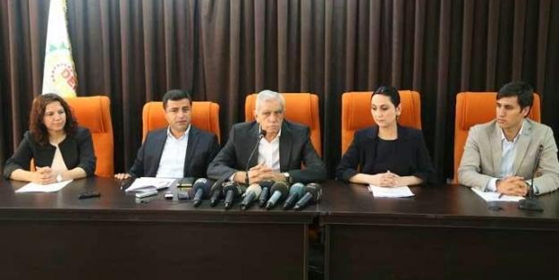 HDP-DTK-DTP ve HDK'dan ortak 1 Kasım çağrısı