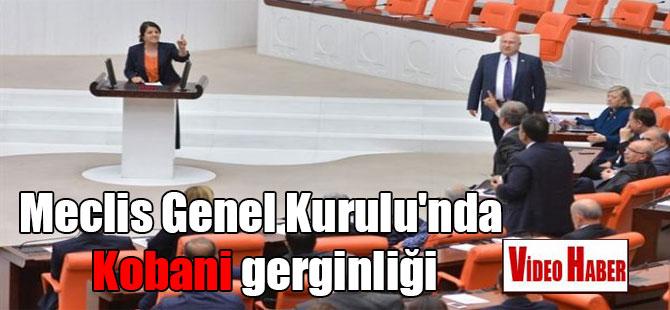 Meclis Genel Kurulu'nda Kobani gerginliği
