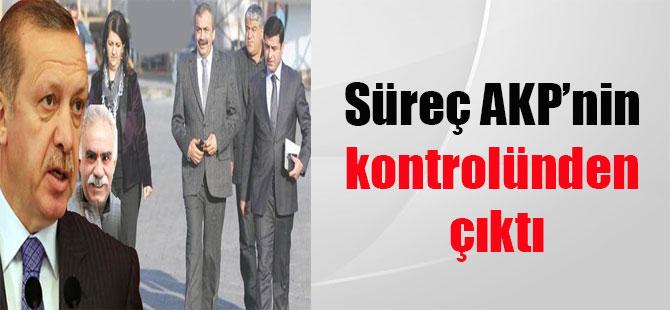 Süreç AKP'nin kontrolünden çıktı
