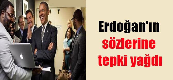 Erdoğan'ın sözlerine tepki yağdı