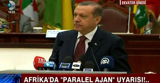 Erdoğan, Afrika'dan 'gizli yapılanma ve ajan' uyarısı yaptı