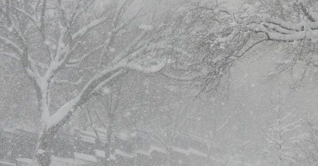 Kar ve fırtına uyarısı