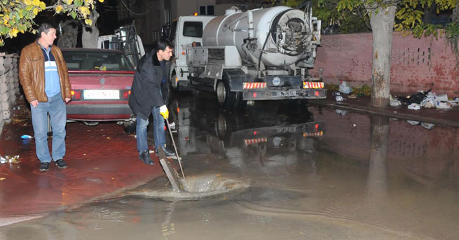 Eskişehir'i su bastı