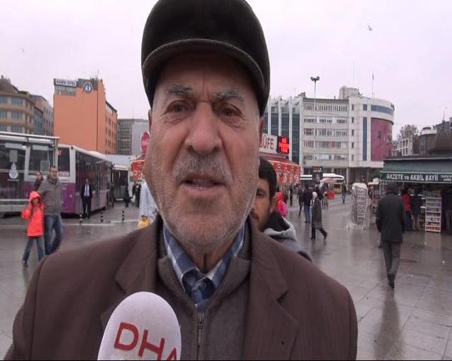 92'lik Mehmet Dede'den kadınlara tam destek!