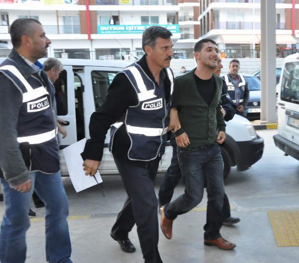 Nazilli'deki Kobani protestosuna 6 tutuklama