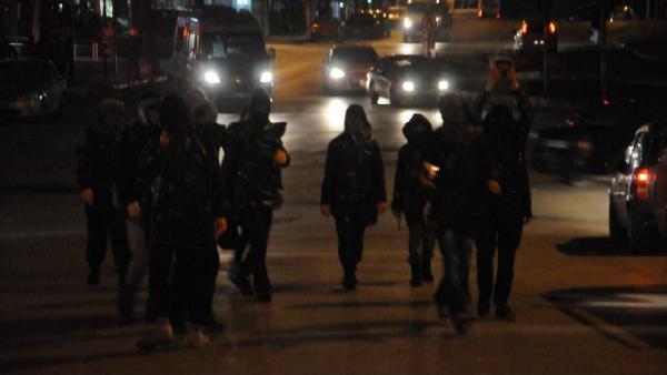 PKK'lılar Ankara'da ortalığı savaş alanına çevirdi!