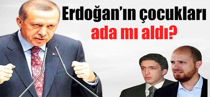 Erdoğan'ın çocukları ada mı aldı?