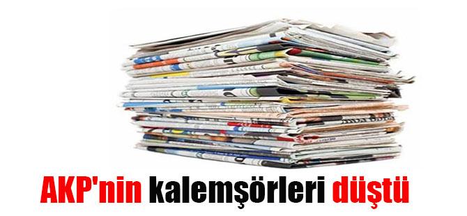 AKP'nin kalemşörleri düştü