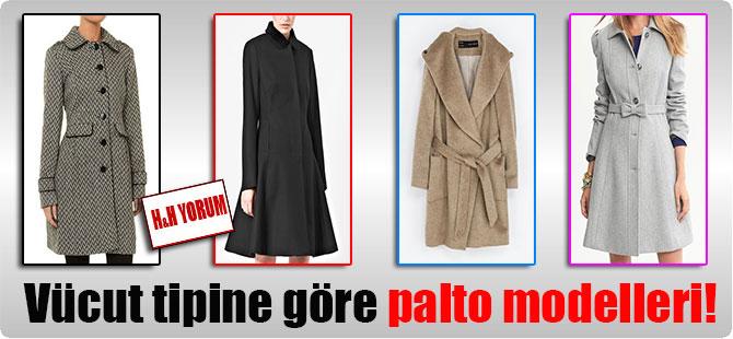 Vücut tipine göre palto modelleri!