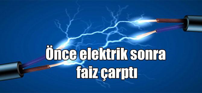 Önce elektrik sonra faiz çarptı