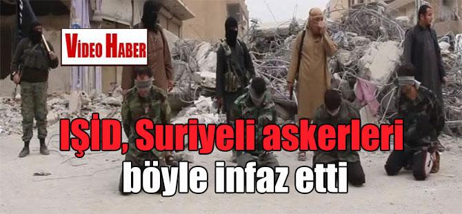 IŞİD, Suriyeli askerleri böyle infaz etti