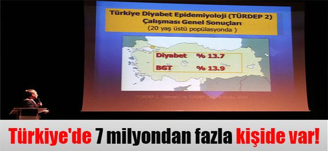 Türkiye'de 7 milyondan fazla kişide var!