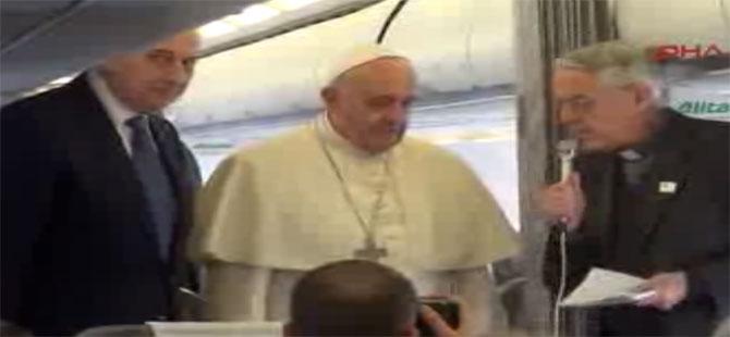 Papa Francesco: Türkiye çok sayıda mülteciye kucak açmış bir ülkedir