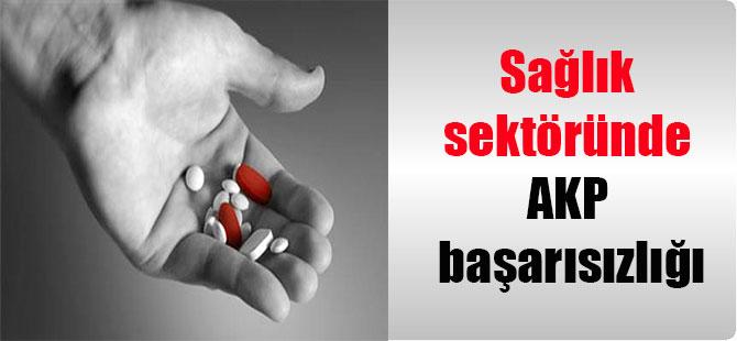 Sağlık sektöründe AKP başarısızlığı