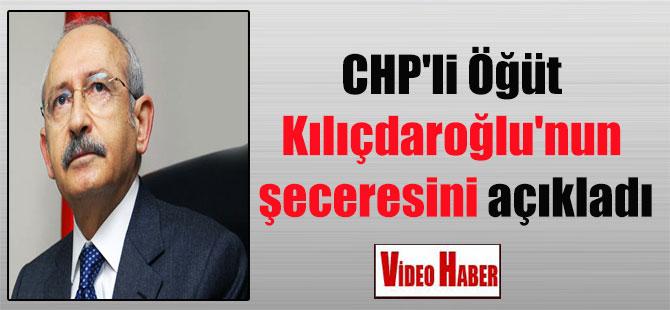 CHP'li Öğüt Kılıçdaroğlu'nun şeceresini açıkladı