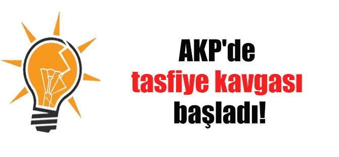 AKP'de tasfiye kavgası başladı!