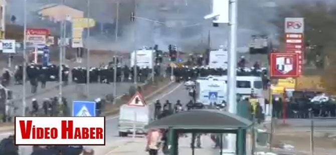 Tunceli'de olaylar çıktı
