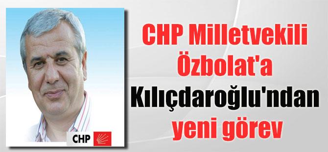 CHP Milletvekili Özbolat'a Kılıçdaroğlu'ndan yeni görev