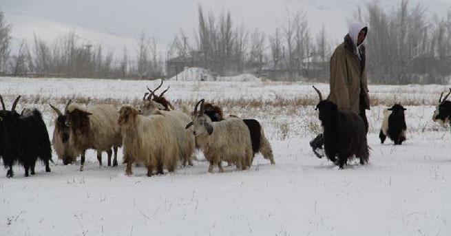 Kar, Doğu'da yolları kapattı