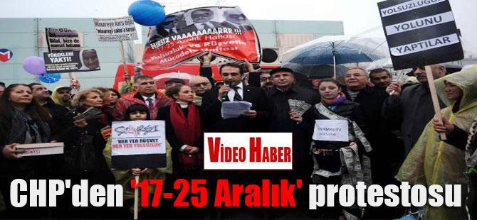 CHP'den '17-25 Aralık' protestosu
