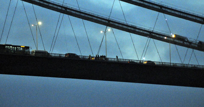 Boğaziçi Köprüsü'nde intihar yoğunluğu