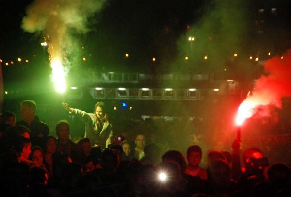 Karşıyaka'da görkemli kutlama