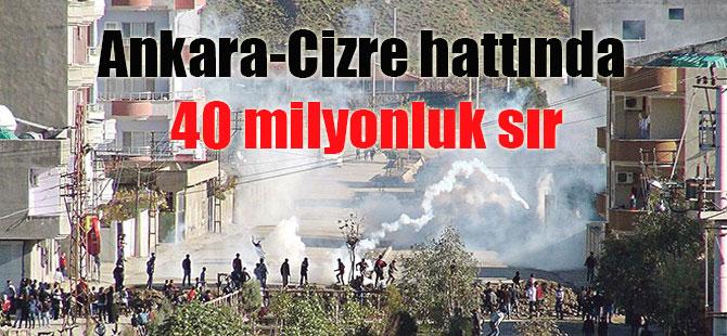 Ankara-Cizre hattında 40 milyonluk sır