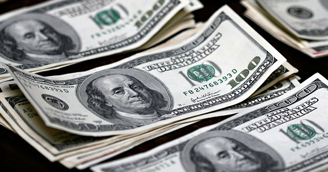Dolar, euro ve sterlin rekor tazeledi, borsa 100 bin puanda