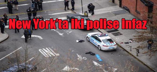New York'ta iki polise infaz