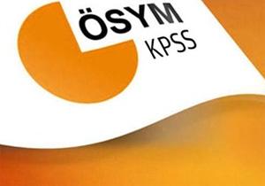 KPSS ortaöğretim sonuçları açıklandı!