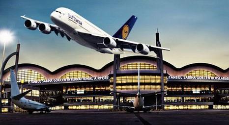 Sabiha Gökçen'de uçuşlar geçici süre durduruldu