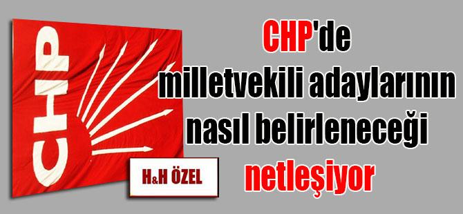 CHP'de milletvekili adaylarının nasıl belirleneceği netleşiyor