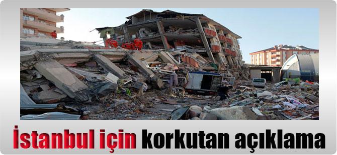 İstanbul için korkutan açıklama