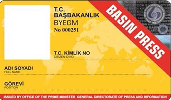 Son 3 yıl içinde 22 bin 202 basın kartı başvurusu reddedildi…