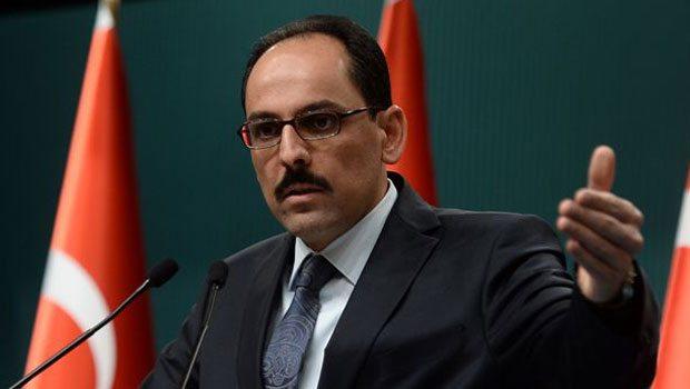 Saray Sözcüsü'den Sarkisyan'a cevap