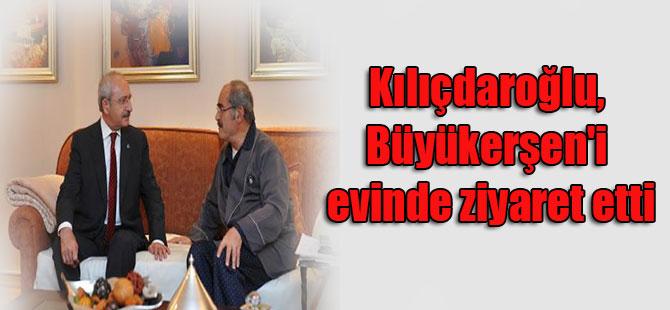 Kılıçdaroğlu, Büyükerşen'i evinde ziyaret etti