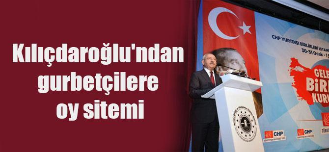 Kılıçdaroğlu'ndan gurbetçilere oy sitemi