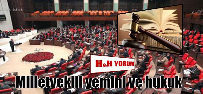Milletvekili yemini ve hukuk