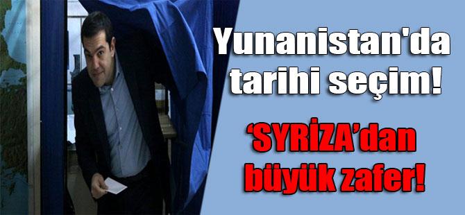 Yunanistan'da tarihi seçim! 'SYRİZA'dan büyük zafer!
