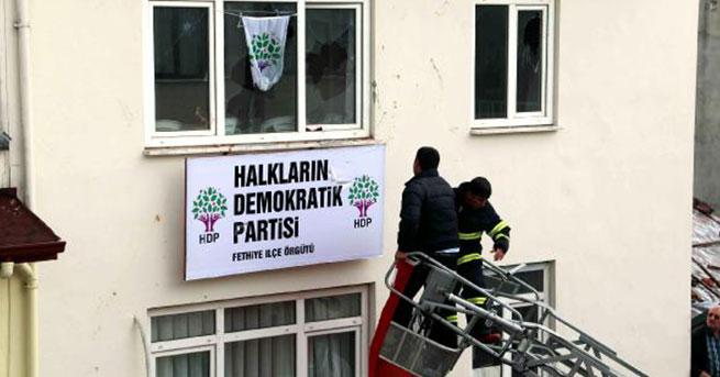 HDP, Fethiye'de kiralık bina bulamadı