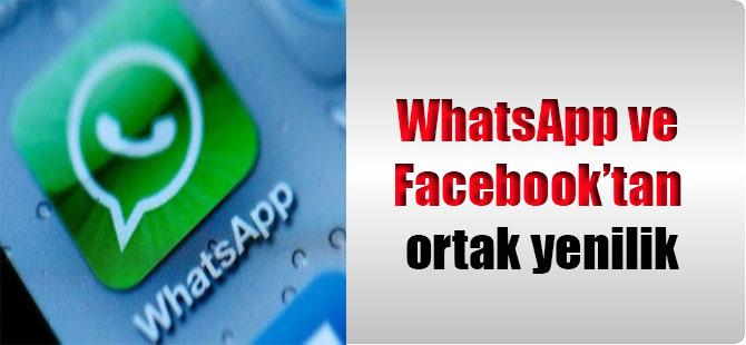 WhatsApp ve Facebooktan Ortak Yenilik 77