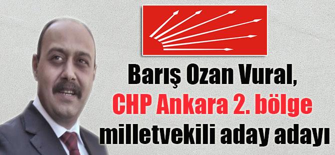Barış Ozan Vural, CHP Ankara 2. bölge milletvekili aday adayı
