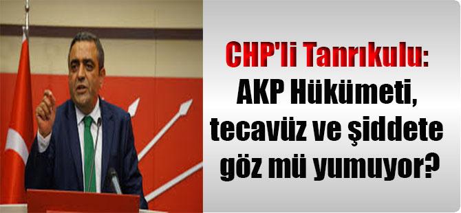 CHP'li Tanrıkulu: AKP Hükümeti, tecavüz ve şiddete göz mü yumuyor?