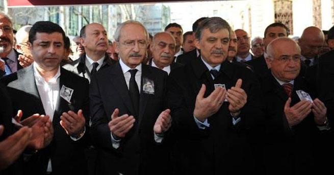 Yaşar Kemal'i yan yana uğurladılar