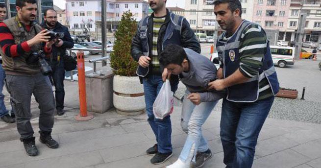 ATM'yi soymak isterken bacağını kırdı