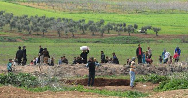 Suriyeliler'in Türkiye'ye kaçışı sürüyor