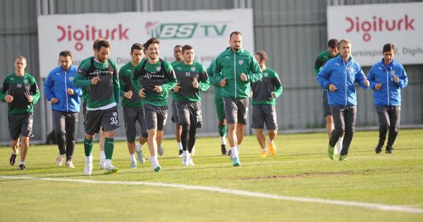Bursaspor'da tatil bitti