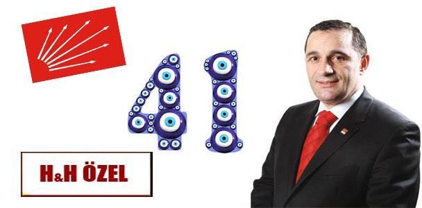 CHP Ankara 1. Bölge Milletvekili Aday Adayı İlyas Güven Eroğlu'nun aday sıra numarası 41