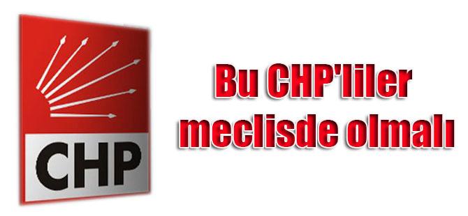 Bu CHP'liler meclisde olmalı